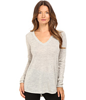 ATM Anthony Thomas Melillo - V-Neck Raw Edge Sweater