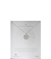 Dogeared - Balance Mandala Center Circle Necklace
