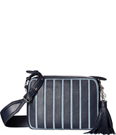 MICHAEL Michael Kors - Applique Stripe Canvas Brooklyn Large Camera Bag
