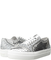 Just Cavalli - Python Leather and Glitter Sneaker