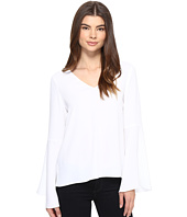 CATHERINE Catherine Malandrino - Georgette Bell Sleeve Top