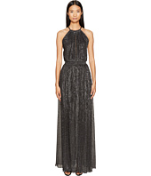 Just Cavalli - Halter Sheer Long Dress