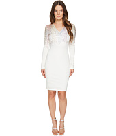 Just Cavalli - Long Sleeve Fitted Short Dress