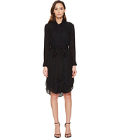 THOMAS WYLDE - Phylicia - Long Sleeve Button Down Dress