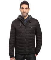 Buffalo David Bitton - Zip Front Twill Jacket with Hood