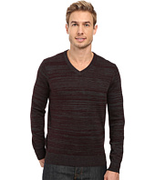 Perry Ellis - Stripe V-Neck Sweater