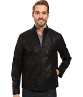 Perry Ellis - Faux Leather Texture Bomber
