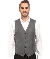 Perry Ellis - Mini-Check Twill Suit Vest