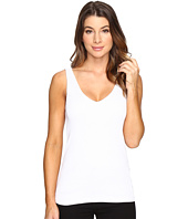 Michael Stars - Shine Double Front V-Neck Tank Top