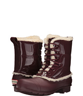 Hunter - Original Patent Leather Lace-Up Shearling Lined Boot