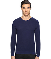 The Kooples - Cotton Pearl Stitch Sweater