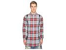 Suspender Runner Plaid Shirt