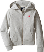 True Religion Kids - Branded Fleece Hoodie (Little Kids/Big Kids)