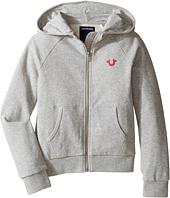 True Religion Kids - Branded Fleece Hoodie (Little Kids/Big Kids)
