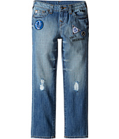 True Religion Kids - Geno Patchwork Jeans in Soft Blue (Toddler/Little Kids)