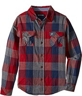 True Religion Kids - Woven Plaid Workwear Shirt (Big Kids)