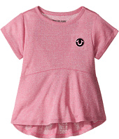 True Religion Kids - Glitter Stripe Peplum T-Shirt (Toddler/Little Kids)