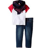 True Religion Kids - Branded Raglan T-Shirt Three-Piece Set (Infant/Toddler)