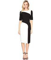Maggy London - Crepe Color Block Sheath Dress