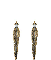 Rebecca Minkoff - Feather Articulated Post Earrings