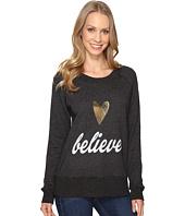 Allen Allen - Believe Long Sleeve Raglan Crew