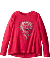 Lucky Brand Kids - Long Sleeve Tee with Lotus Graphic (Little Kids)