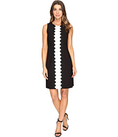 Christin Michaels - Amalia Sleeveless Crepe Dress
