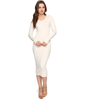 Culture Phit - Leah Long Sleeve Ribbed Midi Dress