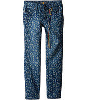 Lucky Brand Kids - Printed Zoe Jeans in Dark Indigo (Little Kids)