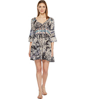 Brigitte Bailey - Mahalia Printed V-Neck Dress