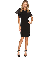 Calvin Klein - Short Sleeve Flutter Dress