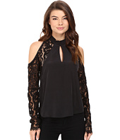 Nicole Miller - Kendall Cold Shoulder Blouse
