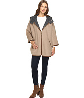 Ellen Tracy - Double Face Hooded Cape