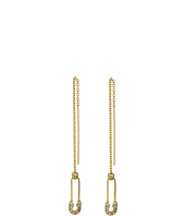 Rebecca Minkoff - Safety Pin Threader Earrings