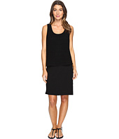 Mod-o-doc - Slub Jersey Lace Layover Tank Dress