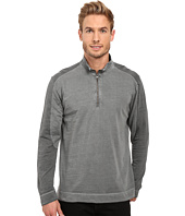 Mod-o-doc - Carmel Heather Block 1/4 Zip Funnel Pullover