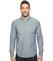Timberland - Long Sleeve Mumford River Chambray Polkadot Shirt