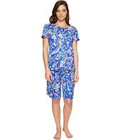 LAUREN Ralph Lauren - Short Sleeve Bermuda PJ Set