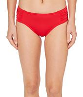 Tommy Bahama - Pearl High-Waist Side-Shirred Bikini Bottom