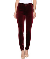 Blank NYC - Velvet Burgundy High-Rise Skinny in Burgundy Lush