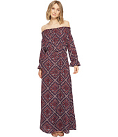Brigitte Bailey - Ellinor Off the Shoulder Printed Maxi Dress