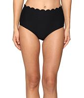 Kate Spade New York - Marina Piccola Scalloped High Waist Bikini Bottom