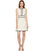 Kate Spade New York - Rambling Roses Scallop Tweed Dress