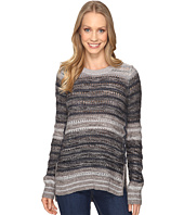 Lucky Brand - Striped Lace-Up Pullover