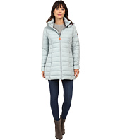 Save the Duck - Hooded Stretch Puffer Long Coat