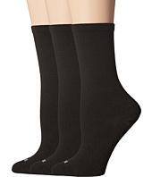HUE - Massaging Sole Socks 3-Pack