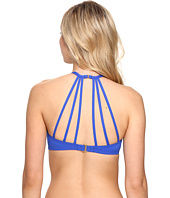 La Blanca - All Meshed Up Strappy Hi-Neck Bra Top