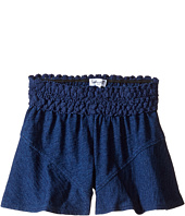 Splendid Littles - Indigo Lace Waistband Shorts (Little Kids)