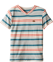 Lucky Brand Kids - V-Neck Striped T-Shirt (Little Kids/Big Kids)
