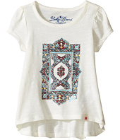 Lucky Brand Kids - Short Sleeve Tee w/ Princess Seams and Screen Print (Toddler)